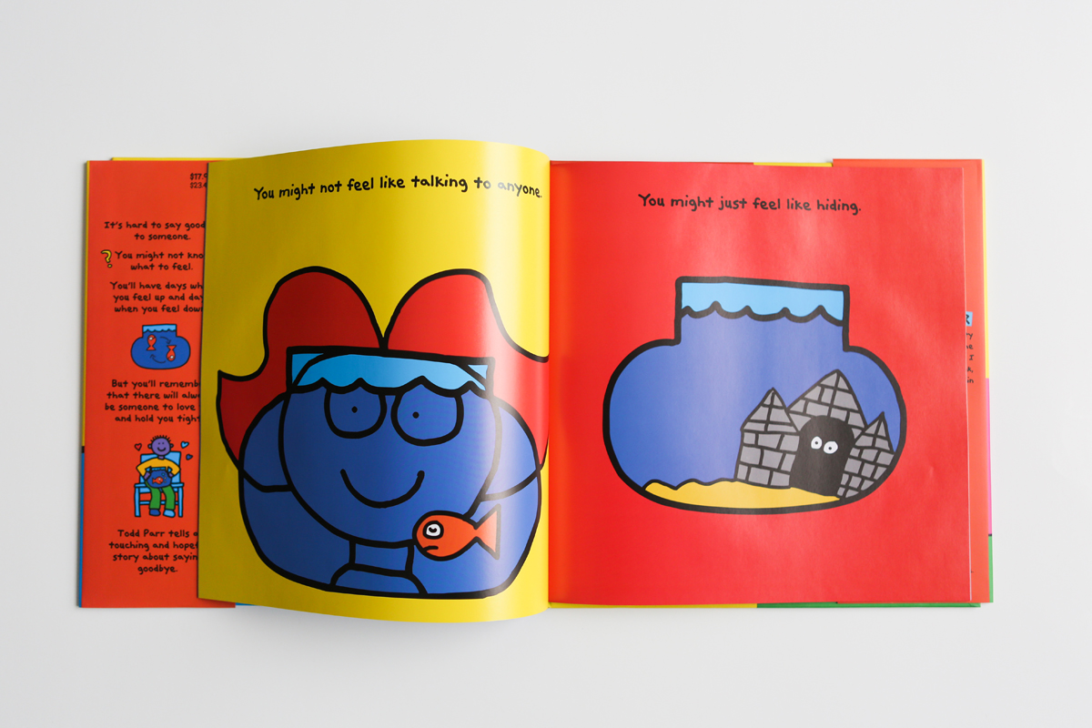Who it's for: Everyone. It's simple enough for toddlers, but its message  hits home for all of us. The Goodbye Book